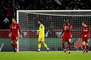 Thua tiếp PSG, Liverpool đối mặt nguy cơ chia tay Champions League