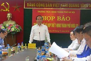 Kỳ họp thứ 7, HĐND TP Hà Nội: Thực hiện lấy phiếu tín nhiệm với người giữ chức vụ do HĐND bầu