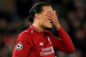 Liverpool rơi vào thế chân tường ở Champions League