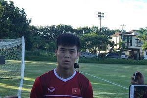 Trung vệ Việt Nam tự tin thắng Philippines ở bán kết AFF Cup