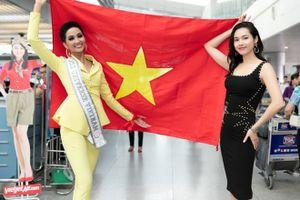 H'Hen Niê mang 12 vali hành lý lên đường dự thi 'Miss Universe 2018'