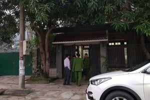 Đang khám nhà cựu Giám đốc BIDV Hà Tĩnh
