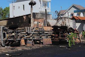 Khởi tố vụ cháy xe bồn khiến 6 người chết ở Bình Phước