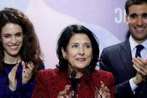 Bà Zurabishvili chiến thắng trong cuộc bầu cử tổng thống Gruzia