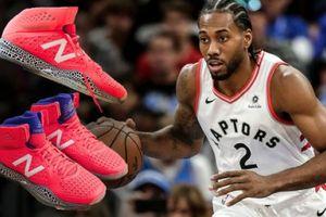 Kawhi Leonard gây shock khi từ chối Nike và gật đầu với New Balance