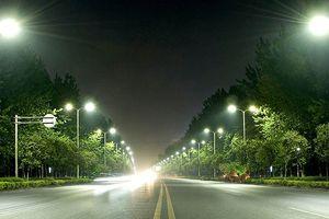 Các gói thầu chiếu sáng đô thị trước 'giờ G'