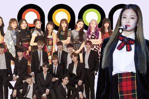 Gaon Chart tuần qua xáo động, tất cả bởi Jennie, BlackPink và Wanna One