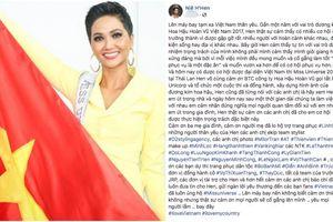 Bức 'tâm thư' trước lúc Hoa hậu H'Hen Niê khởi hành đến 'xứ Chùa Vàng' để tham dự Miss Universe 2018