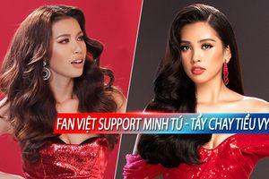 Phát hiện Tiểu Vy 'có quan hệ' với kẻ hại Minh Tú, fan Việt đồng loạt 'tẩy chay' đầy oan ức!