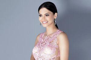 Hoa hậu Hoàn vũ nóng bỏng hết nấc cổ vũ Philippines đấu Việt Nam