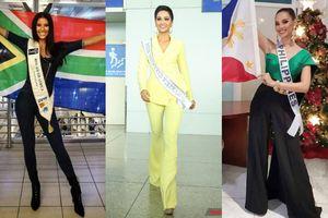 Vừa xuất trận, thời trang sân bay của H'Hen Niê đã ăn đứt dàn người đẹp Miss Universe