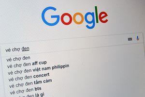 Khó mua vé xem bán kết AFF Cup 2018, người hâm mộ Việt Nam đổ xô lên Google tìm 'vé chợ đen'