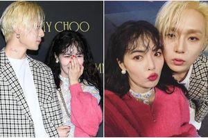 Lần đầu xuất hiện cùng nhau sau khi công khai hẹn hò, HyunA 'e ấp' bên E'Dawn tại sự kiện ở Gangnam