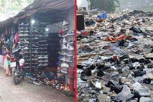 Hà Nội: Cảnh tượng tan hoang khi hàng trăm ki ốt ven sông Tô Lịch bị phá bỏ