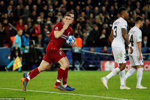 Liverpool đứng trước nguy cơ lớn bị loại khỏi Champions League