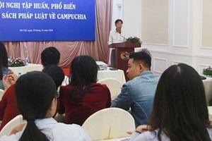 Nâng cao nghiệp vụ tuyên truyền về thông tin đối ngoại giữa Việt Nam và Campuchia