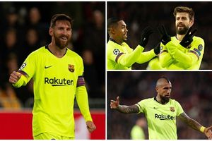 Chấm điểm PSV 1-2 Barca: 'Ngả mũ' trước Messi