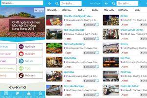 Dalat City - ứng dụng hỗ trợ tích cực du khách