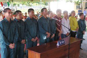 Bình Thuận xét xử thêm 9 đối tượng gây rối tại Phan Rí