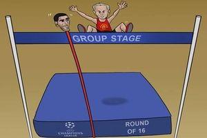 Biếm họa 24h: 'Cây sào' Fellaini đưa MU vào vòng knock-out Champions League