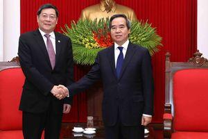 Ông Nguyễn Văn Bình tiếp Đoàn đại biểu đảng CS Trung Quốc