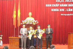 Quảng Ninh vừa có 2 tân Phó Bí thư Tỉnh ủy