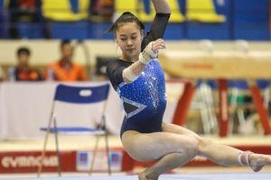 VĐV Việt kiều Nguyễn Tienna Katelyn giành huy chương vàng thể dục dụng cụ toàn năng nữ