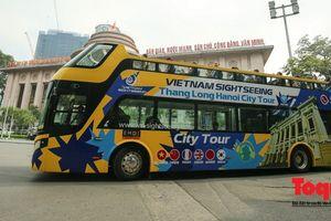Chính thức đưa vào khai thác xe bus 2 tầng Vietnam Sightseeing phục vụ du lịch