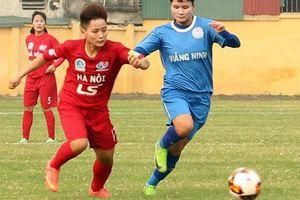 Giải Bóng đá nữ: Hà Nội hòa Quảng Ninh
