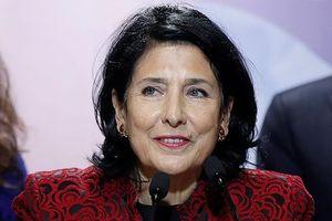 Gruzia có nữ Tổng thống đầu tiên