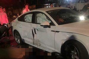 Va chạm với xe Audi, 4 người điều khiển xe máy thương vong