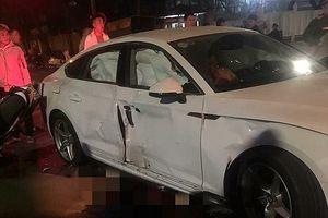 Điều tra vụ tai nạn giao thông liên quan đến chiếc xe ô tô Audi Q5