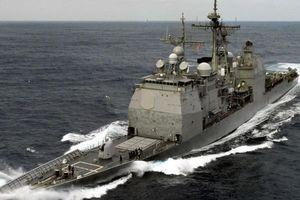 Mỹ điều tàu chiến áp sát quần đảo Hoàng Sa
