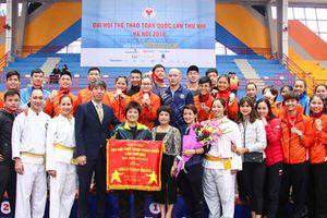 Hà Nội bảo vệ thành công ngôi vị nhất toàn đoàn bộ môn Pencak Silat
