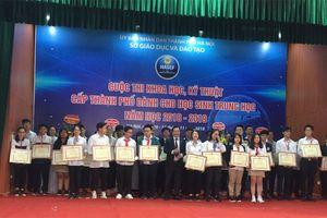 Hà Nội: 175 học sinh dự thi HASEF 2018 đều chiến thắng