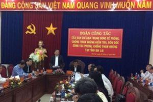 Đồng chí Tô Lâm kiểm tra công tác phòng, chống tham nhũng tại Gia Lai