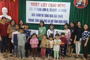 Hỗ trợ hơn 700 triệu đồng cho trẻ em khó khăn tỉnh Điện Biên