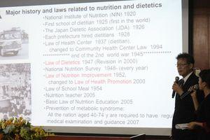 Tăng cường hoạt động dinh dưỡng lâm sàng tại Việt Nam