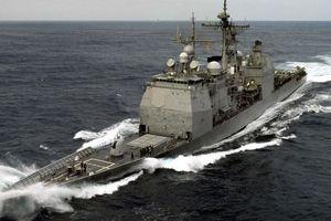 Tàu chiến Mỹ xuất hiện gần quần đảo Hoàng Sa - Trung Quốc phản ứng
