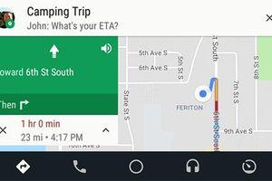 Google thêm các tùy chọn nhắn tin mới cho Android Auto