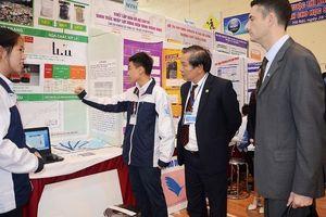 Học sinh Hà Nội hứng thú với khoa học để tạo ra đổi mới