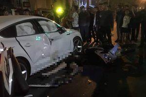 Siêu xe Audi Q5 gây tai nạn liên hoàn lúc nửa đêm, 3 người thương vong