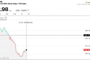 Chứng khoán sáng 30/11: Khối ngoại mạnh tay mua VNM, VN-Index vẫn mất điểm