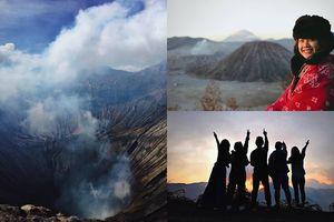Cô gái 9X chia sẻ hành trình chinh phục núi lửa Bromo ở Indonesia 'siêu chất'