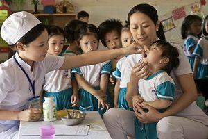 Ngày 30/11 và 1/12, đừng quên đưa trẻ đi uống vitamin A tại các trạm y tế xã, phường