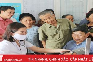 Nỗ lực giảm tỷ lệ người mắc bệnh không lây nhiễm tại Hà Tĩnh