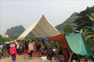 Người dân phản đối xây dựng Đài hóa thân hoàn vũ tại Ninh Bình đã giải tán