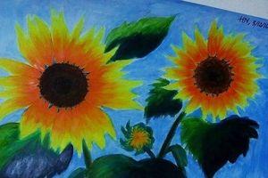 Dậy sóng mạng: Trào lưu đăng ảnh hoa hướng dương ủng hộ 30.000 đồng cho bệnh nhi ung thư