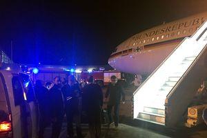 Chuyên cơ chở Thủ tướng Đức tới G20 phải hạ cánh khẩn cấp