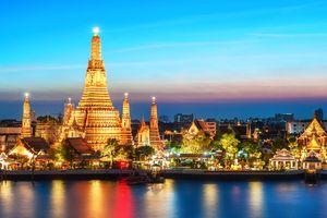 Chiêm ngưỡng vẻ đẹp lung linh của thành phố Bangkok